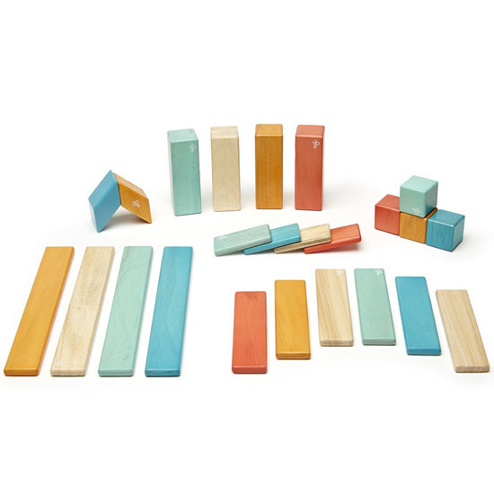 Tegu 24-Pieces  Block Set - Sunset Product