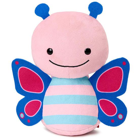 Skip Hop Zoo Baby Plush Stuffed Animal Toy - Butterfly