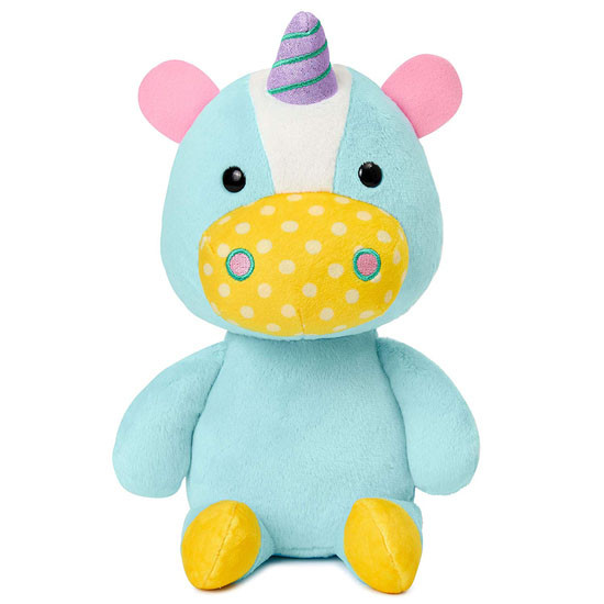 Skip Hop Zoo Baby Plush Stuffed Animal Toy in Unicorn