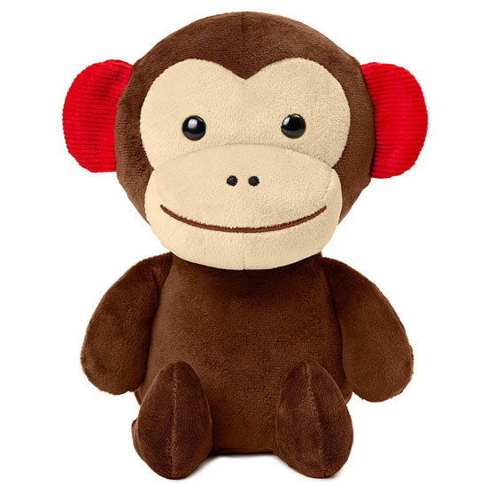Skip Hop Zoo Baby Plush Stuffed Animal Toy - Monkey Product