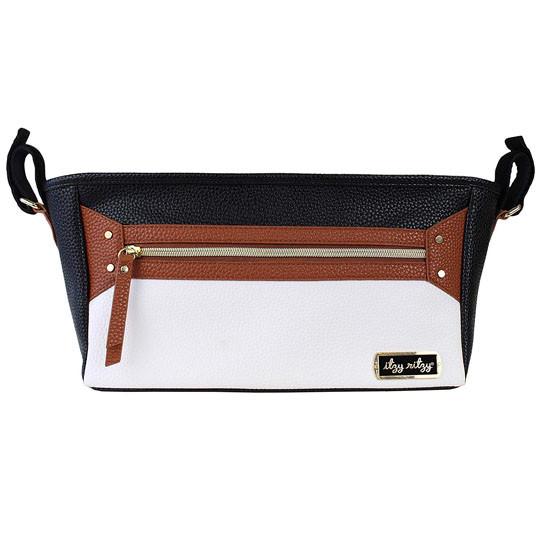 Itzy Ritzy Adjustable Stroller Caddy - Coffee & Cream