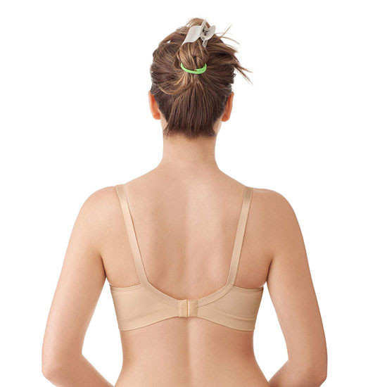 Medela Maternity and Nursing Comfort Bra - Nude Back