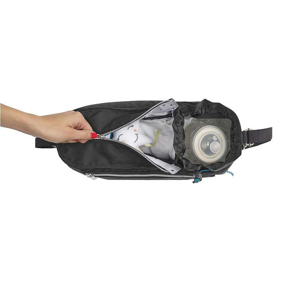 Babymoov Premium Universal Stroller Organizer - Black Room