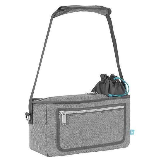 Babymoov Premium Universal Stroller Organizer - Grey Main