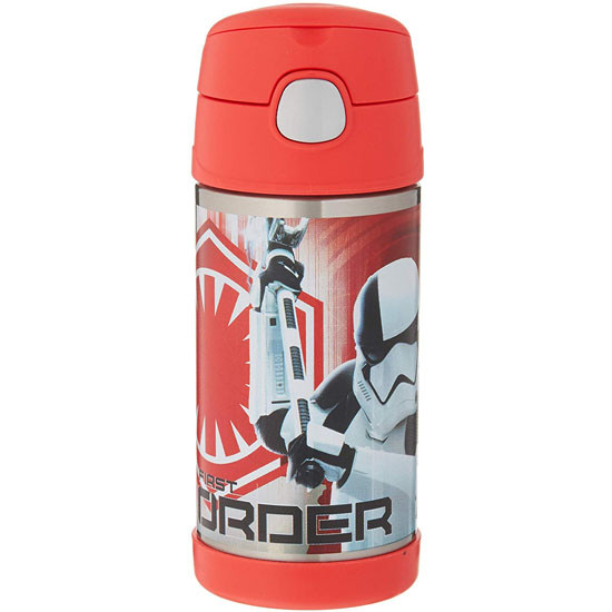 Thermos FUNtainer 12 oz Straw Bottle - Star Wars Episode 8 Executioner Product