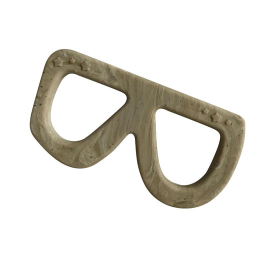 Little Teether Glasses - Cement Main