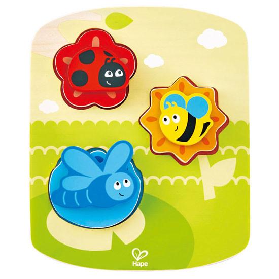 Hape Dynamic Insect Puzzle Set