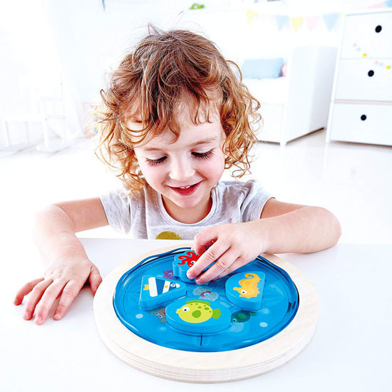 Hape Deep Sea Discovery Puzzle Play