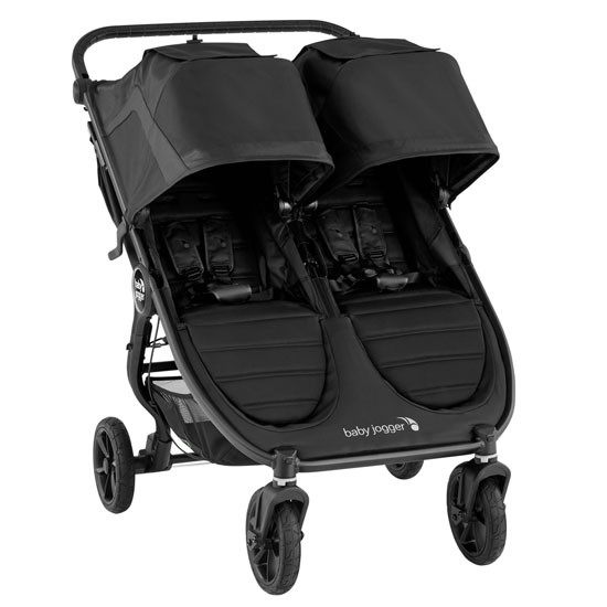 Baby Jogger City Mini GT2 Double Stroller in Jet