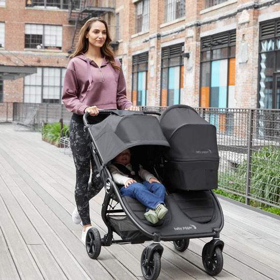 Baby Jogger City Mini GT2 Double Stroller Lifestyle