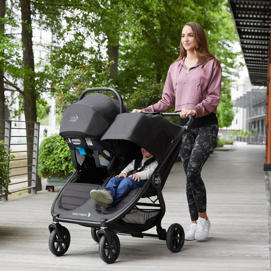 Baby Jogger City Mini GT2 Double Stroller Travel