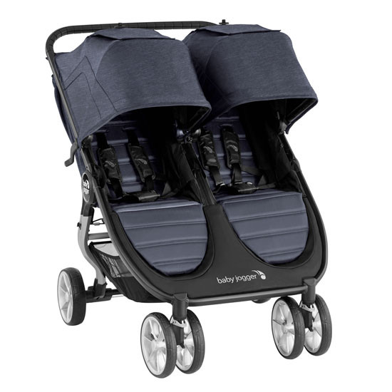 Baby Jogger City Mini 2 Double Stroller Carbon