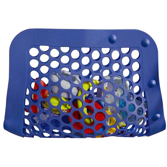 Dr Brown's Silicone Dishwasher Bag - Blue Folded