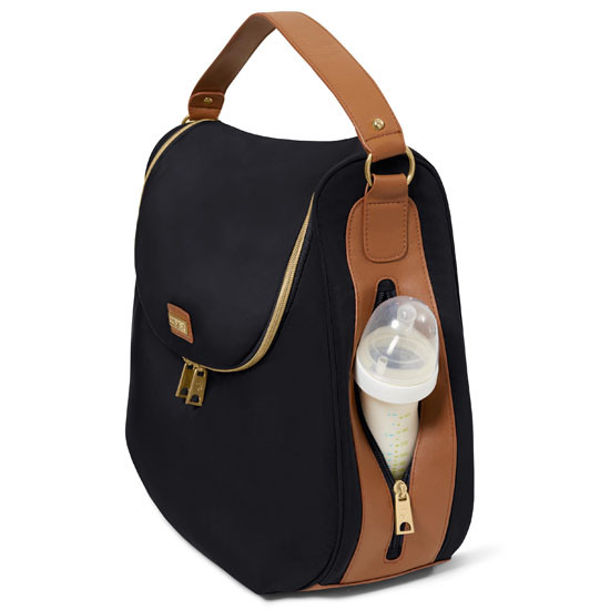 Skip Hop Curve Diaper Satchel Bag Backpack Side