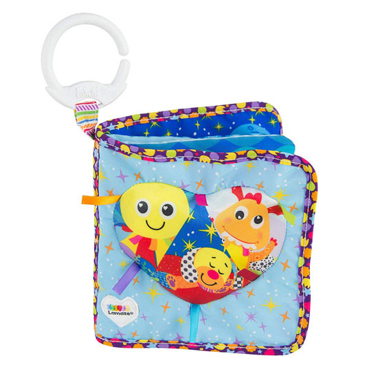Lamaze Soft Book - Fun with Feelings Feature