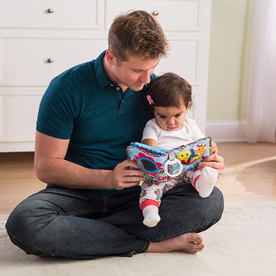 Lamaze Soft Book - Fun with Feelings Lifestyle