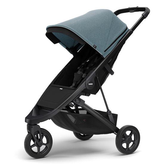 Thule Spring Stroller Black Teal