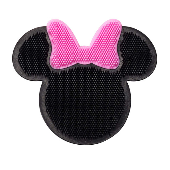 The First Years Disney Minnie Mouse Silicone Bath Scrubby Pink