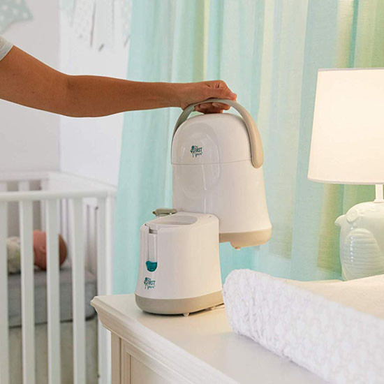 The First Years Night Cravings Bottle Warmer & Cooler for Nursery