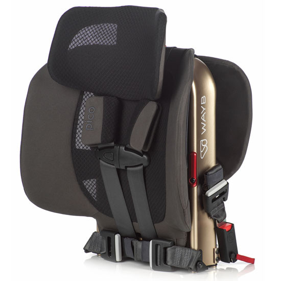 WAYB Pico Traveling Booster Seat - Earth_thumb6