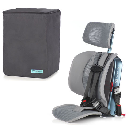 WAYB Pico Traveling Booster Seat with Travel Bag Ocean