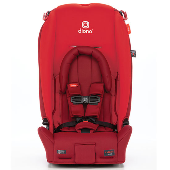 Diono 2020 Radian 3 RX Latch Convertible Car Seat Red