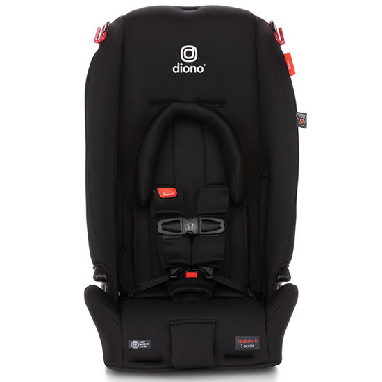 Diono 2020 Radian 3 RX Latch Convertible Car Seat Black