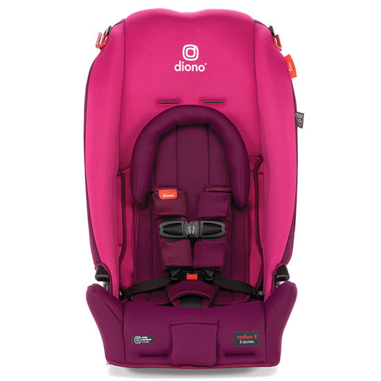 Diono 2020 Radian 3 RX Latch Convertible Car Seat Pink