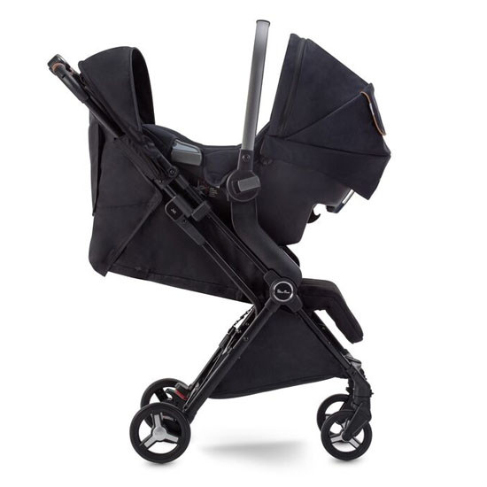 Silver Cross 2020 Jet Ultra Compact Stroller with Car Seat