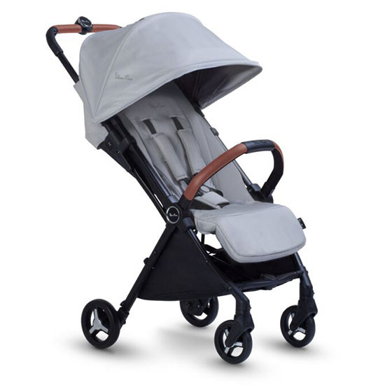 Silver Cross 2020 Jet Ultra Compact Stroller Main Silver