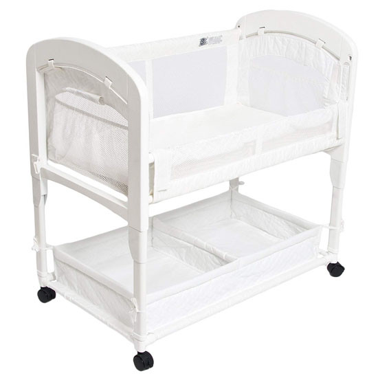 Arms Reach Cambria Co-Sleeper White