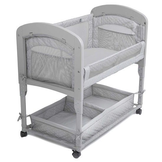 Arms Reach Cambria Co-Sleeper Grey