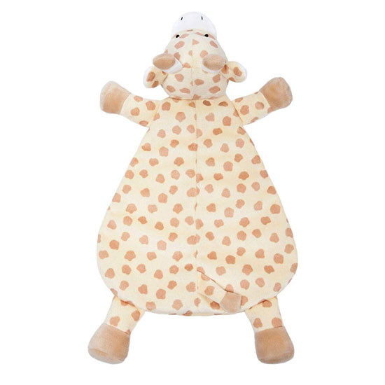 WubbaNub Lovey - Buttercup Giraffe Top