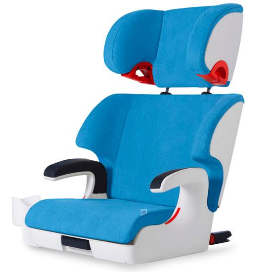 Clek Oobr Booster Seat - Ten Year Blue