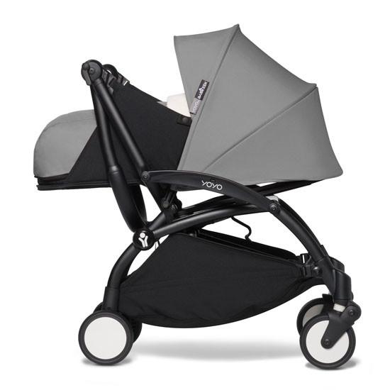 BABYZEN YOYO2 COMPLETE Newborn Stroller - Black Frame Fold