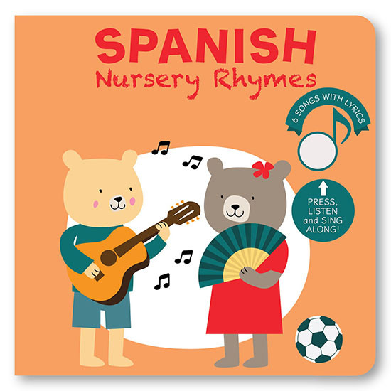 Cali's Books Sign With Me - Spanish Nursery Rhymes Book