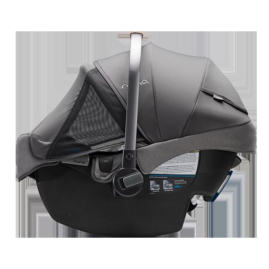 Nuna Pipa RX Infant Car Seat with RELX Base Dream Drape Side