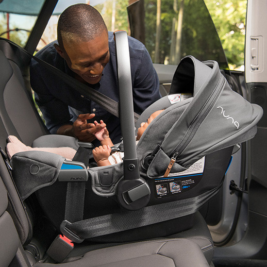 Nuna Pipa RX Infant Car Seat with RELX Base Installation