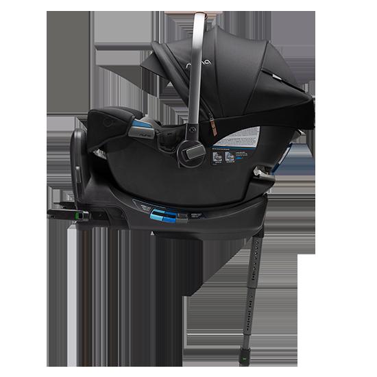 Nuna Pipa RX Infant Car Seat with RELX Base Caviar