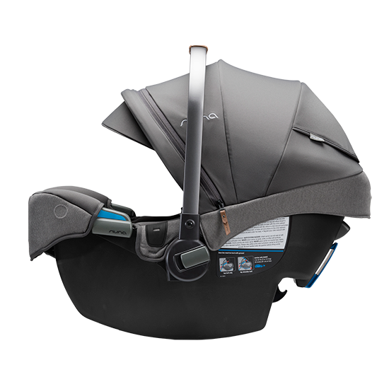 Nuna Pipa RX Infant Car Seat with RELX Base Side No Base