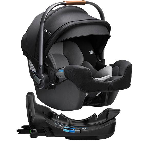 Nuna Pipa RX Infant Car Seat with RELX Base Caviar Main