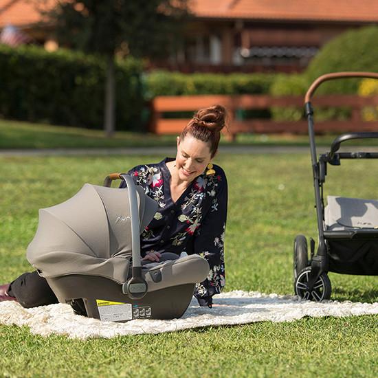 Nuna Pipa LITE R Infant Car Seat with RELX Base Lifestyle