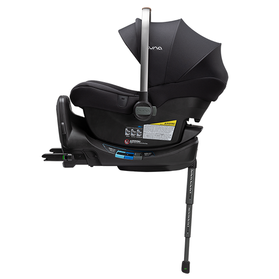 Nuna Pipa LITE R Infant Car Seat with RELX Base Caviar