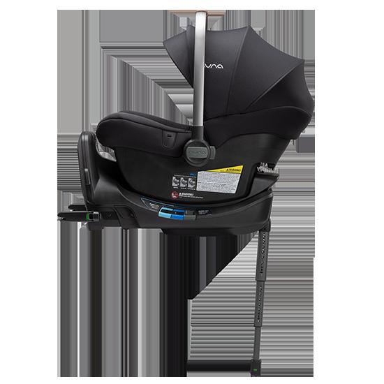 Nuna Pipa LITE R Infant Car Seat with RELX Base Caviar
