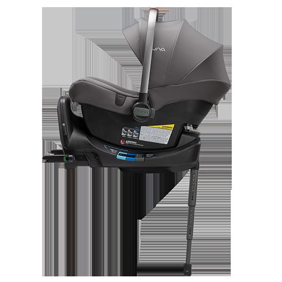 Nuna Pipa LITE R Infant Car Seat with RELX Base Granite