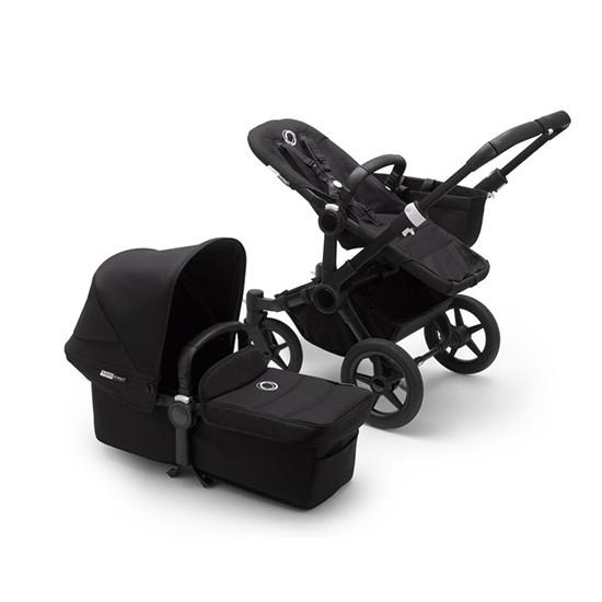 Bugaboo Donkey3 Mono Complete Stroller - Black Frame All Black