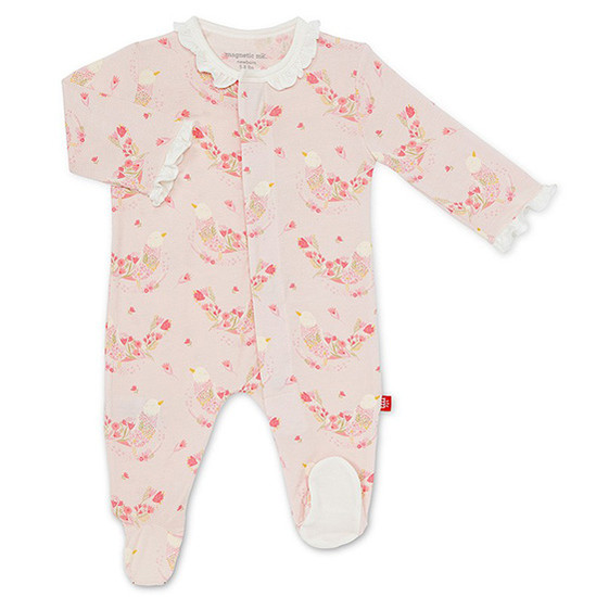 Magnificent Baby Magnetic Birds of Paradise Footie Main