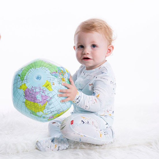 Magnificent Baby Magnetic Sea the World Footie Lifestyle