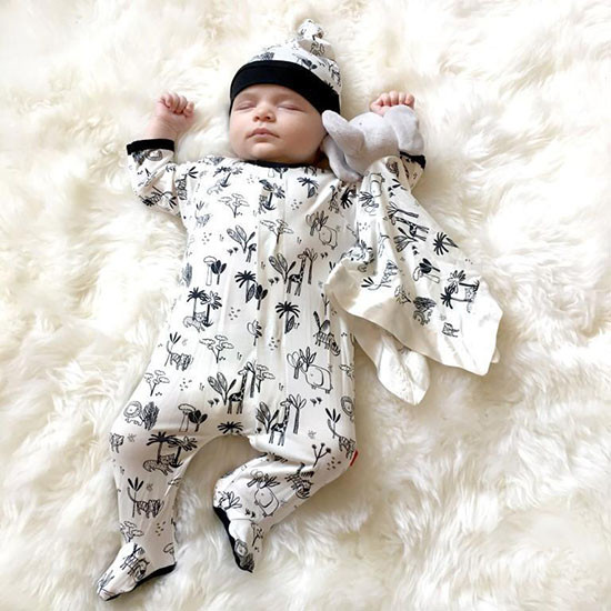 Magnificent Baby Animal Safari Modal Hat - New