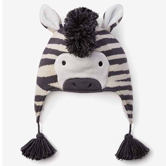 Elegant Baby Zebra Aviator Hat Color